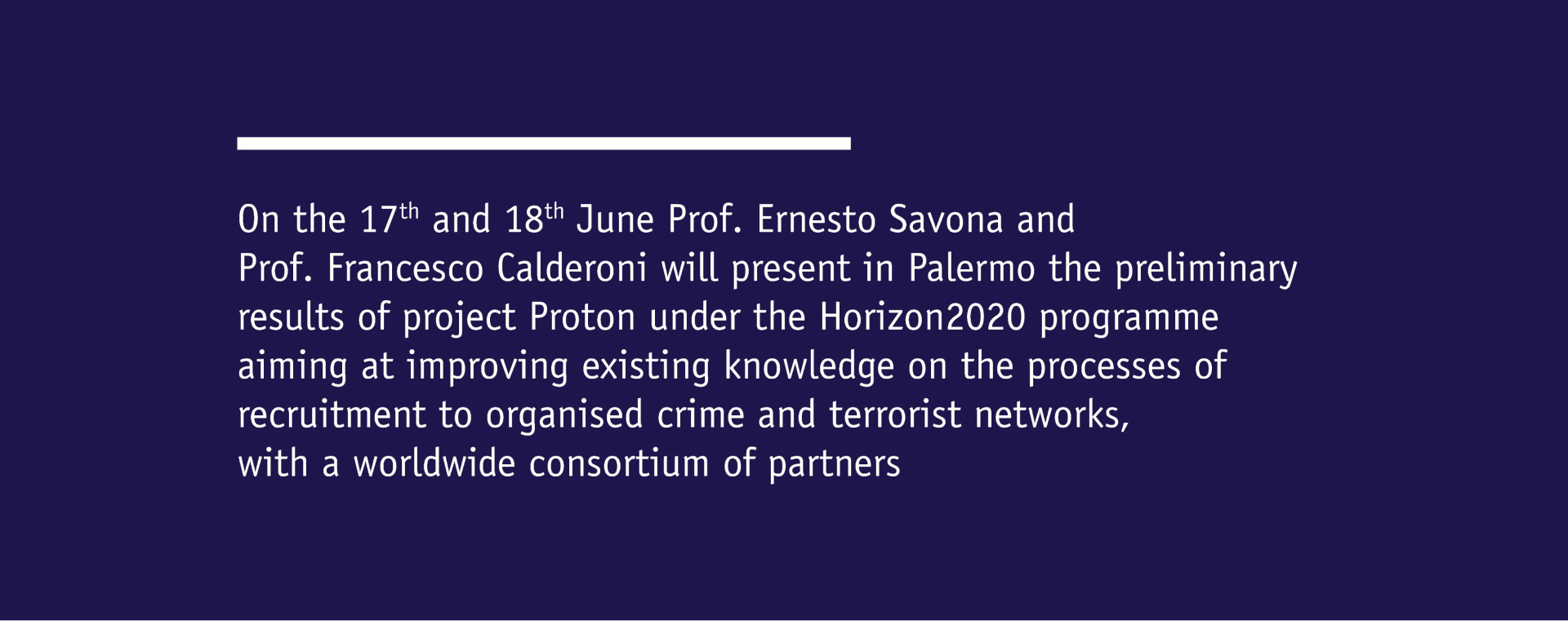 proton project preliminary