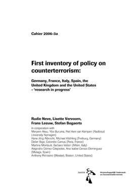 First_inventory_of_policy_on_counterterrorism-italian_contribution_to_NCBT-COVER